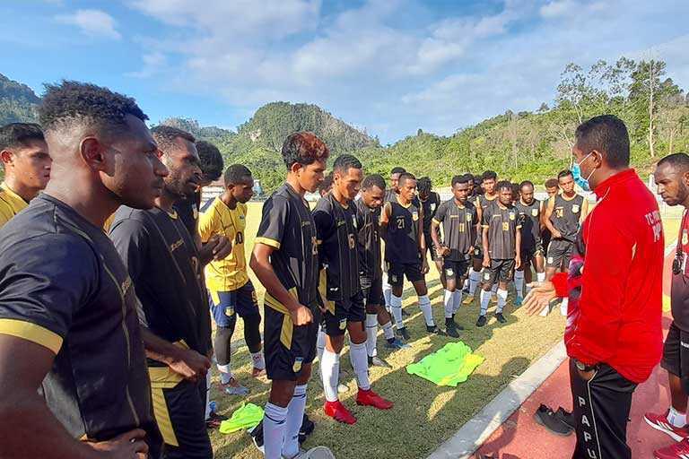 Tim Sepak Bola PON papua
