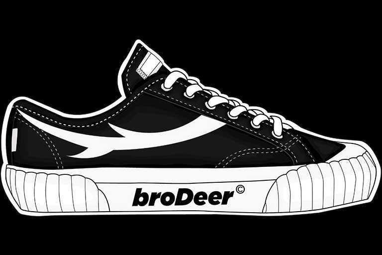 sepatu brodeer