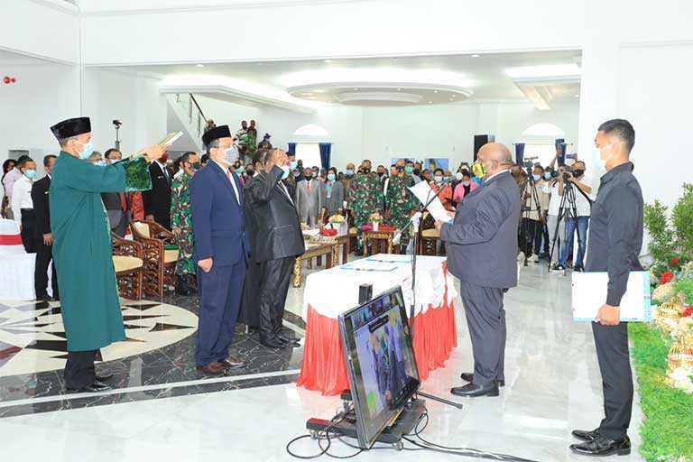 Doren Wakerkwa Jabat Pj Sekda Papua