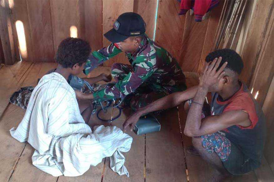 TNI Patroli Kesehatan
